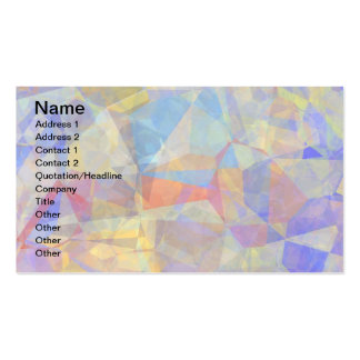 Abstract Polygons 36 Business Cards