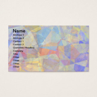 Abstract Polygons 36 Business Card
