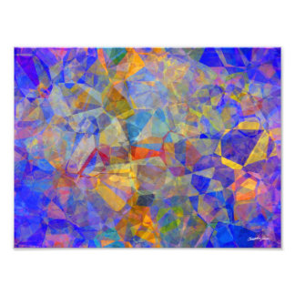 Abstract Polygons 36 Photo Print