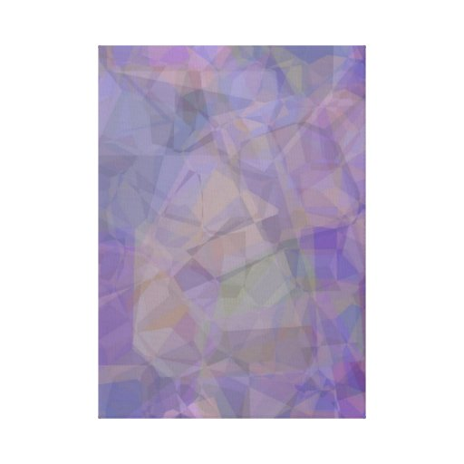 Abstract Polygons 37 Gallery Wrap Canvas