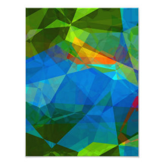 Abstract Polygons 39 Photographic Print
