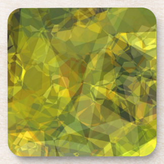 Abstract Polygons 3 Beverage Coaster