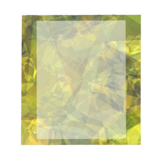 Abstract Polygons 3 Notepad