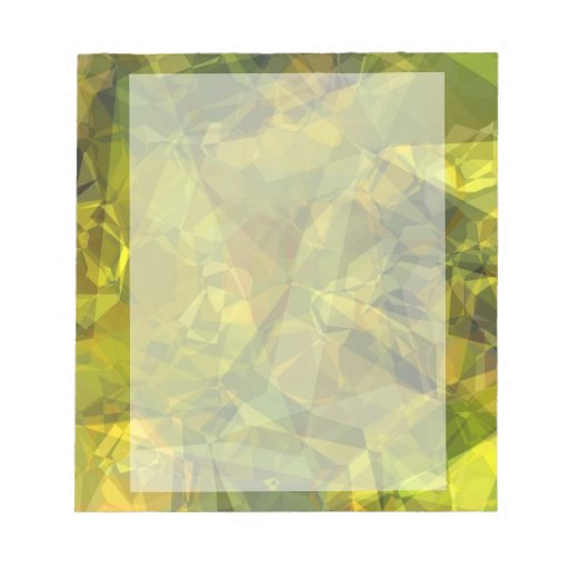 Abstract Polygons 3 Notepads