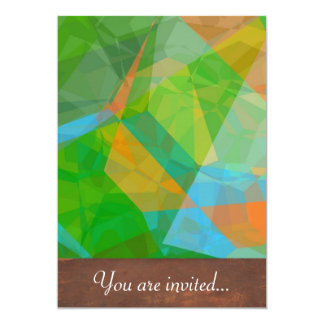 Abstract Polygons 43 Card