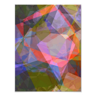 Abstract Polygons 46 Photo Print
