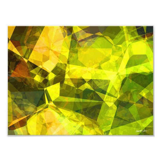 Abstract Polygons 4 Photo Print