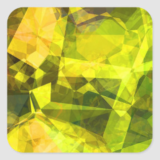 Abstract Polygons 4 Stickers
