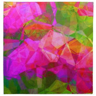 Abstract Polygons 5 Cloth Napkin