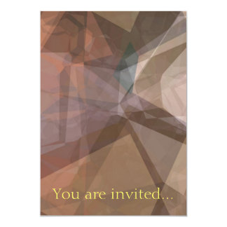 Abstract Polygons 66 Invite