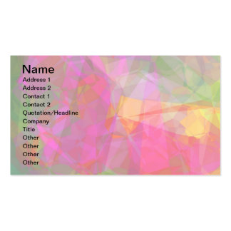 Abstract Polygons 6 Business Card