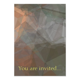 Abstract Polygons 71 Custom Invite