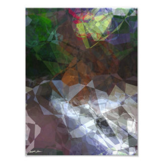 Abstract Polygons 78 Photo Print