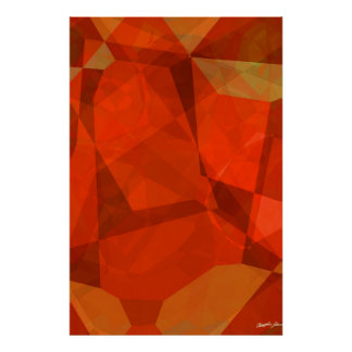 Abstract Polygons 83 Poster