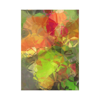 Abstract Polygons 97 Canvas Print