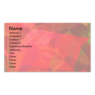 Abstract Polygons 9 Business Card Templates