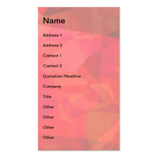 Abstract Polygons 9 Business Card