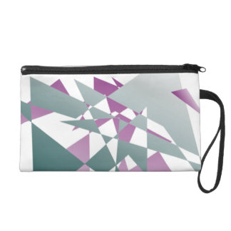 Abstract polygons wristlet