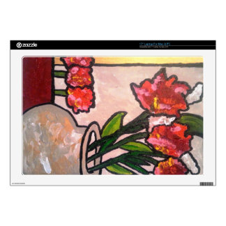 """ABSTRACT POPPIES SKINS FOR 17"""" LAPTOPS"""
