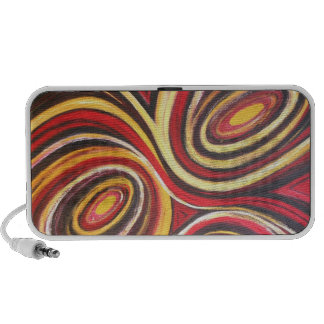 Abstract Portable Speaker