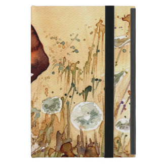 Abstract portrait 3 iPad mini case