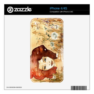 Abstract portrait 3 iPhone 4S skins
