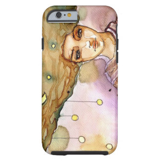 Abstract portrait and pretty woman tough iPhone 6 case