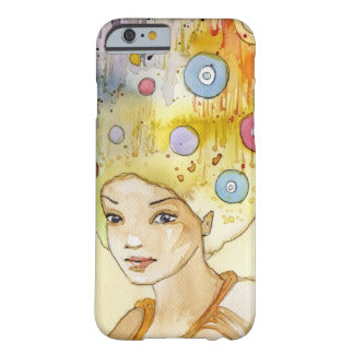 Abstract portrait barely there iPhone 6 case