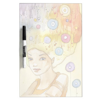 Abstract portrait Dry-Erase board