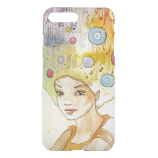 Abstract portrait iPhone 8 plus/7 plus case