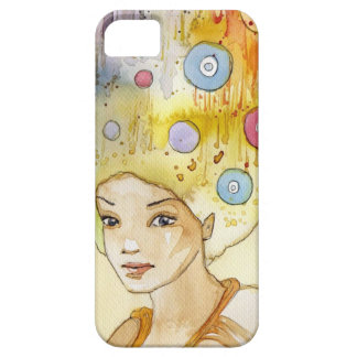 Abstract portrait iPhone SE/5/5s case
