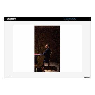 "Abstract Portrait of President Barack Obama 13 Skin For 15"" Laptop"