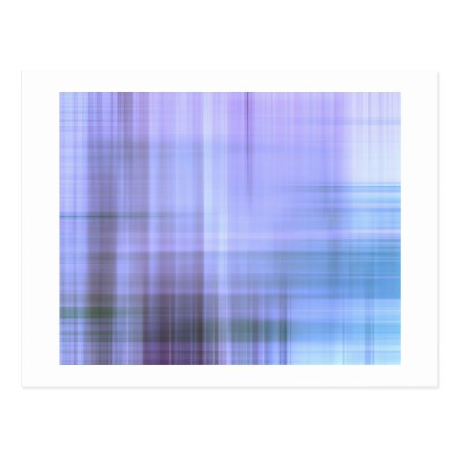 abstract post card