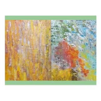 Abstract Postcard