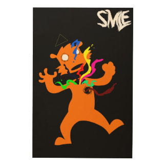 Abstract poster -SMLE- Wood Prints