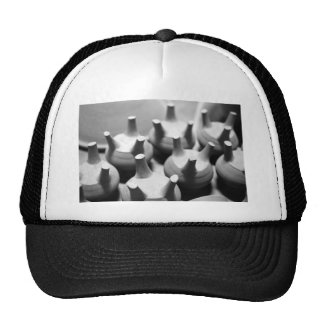 Abstract pottery trucker hat