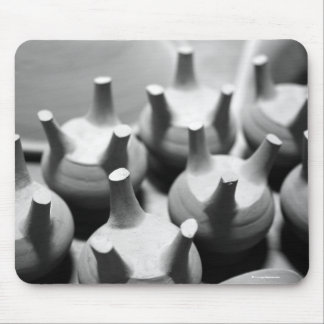 Abstract pottery mouse pad