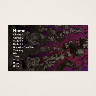 Abstract Power Business Card