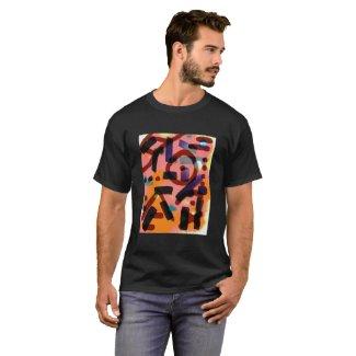 Abstract Print Shirt 1