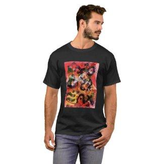 Abstract Print Shirt 3