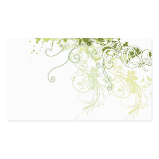 Abstract Profile Card Business Card