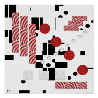 Abstract Proportion Print