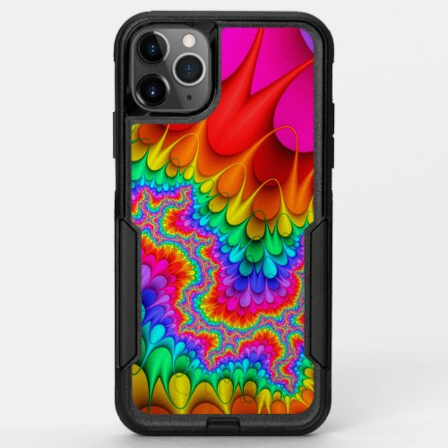 Abstract Psychedelic Art Pattern OtterBox Commuter iPhone 11 Pro Max Case