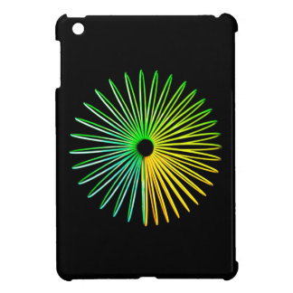 Abstract Psychedelic Optical Illusion Tablet Case iPad Mini Cover