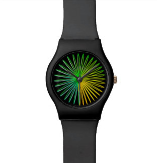 Abstract Psychedelic Optical Illusion Toy Watch
