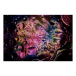Abstract Psychedelic Poster 1
