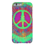 Abstract Psychedelic Tie-Dye Peace Sign iPhone 6 Case