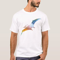 Abstract Pterodactyl silhouette T-Shirt