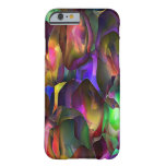 Abstract Purple and Floral by Trevor Star Barely There iPhone 6 Case