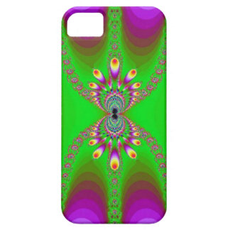 Abstract Purple and Green  iPhone 5 Case